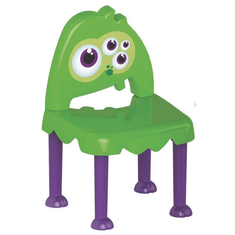 Cadeira Monster Roxo/verde Tramontina