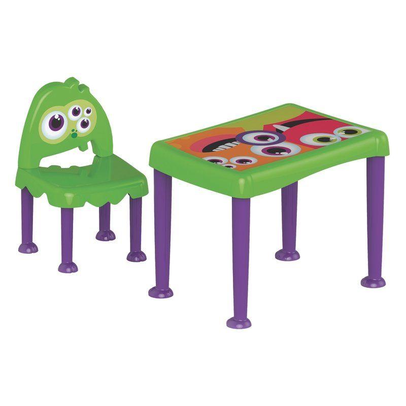 Conjunto Monster Verde/roxo Tramontina