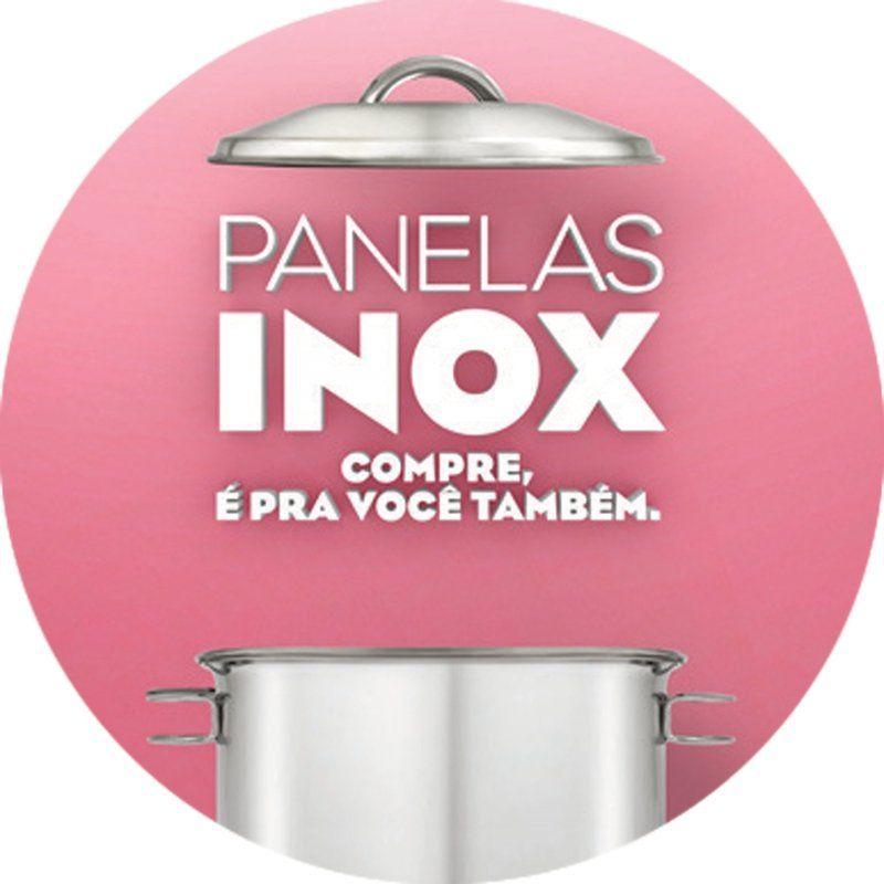 Etiqueta Adesiva Pan.inox P/vi Tramontina