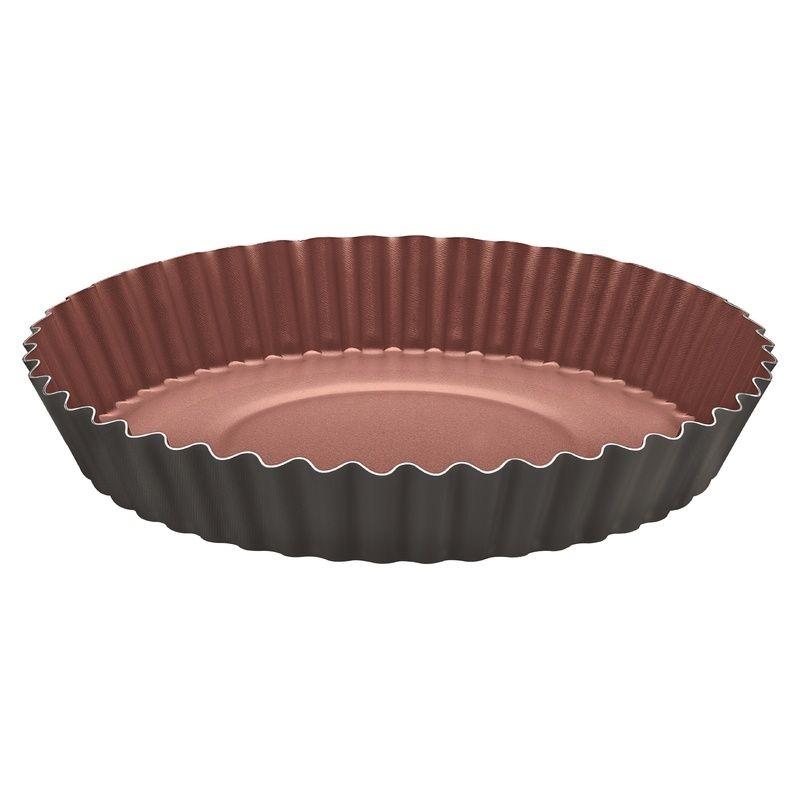 Forma Para Bolo e Torta de Alumínio Com Revestimento Interno Antiaderente ø 26Cm 1,80 Litr Tramontina