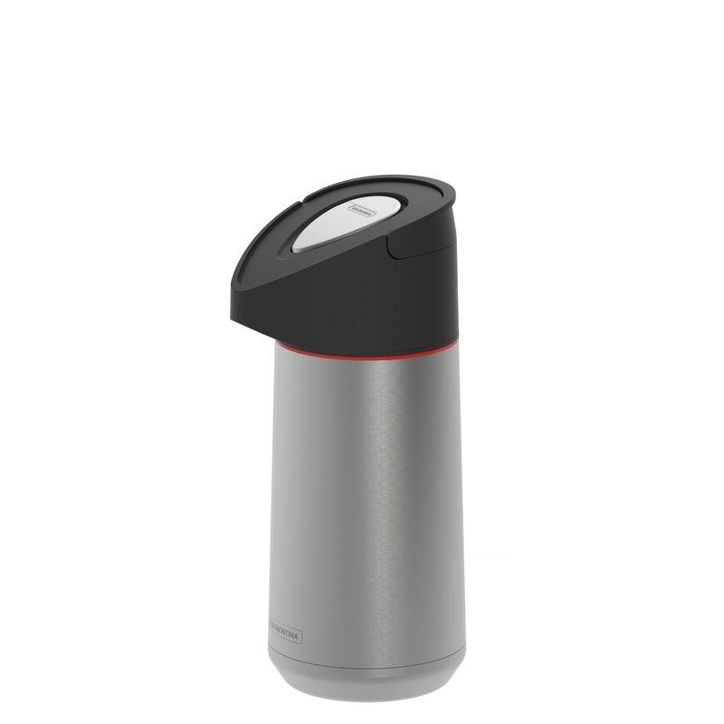 Garrafa Térmica de Aço Inox Com Ampola de Aço 1,40 Litros Exata Tramontina