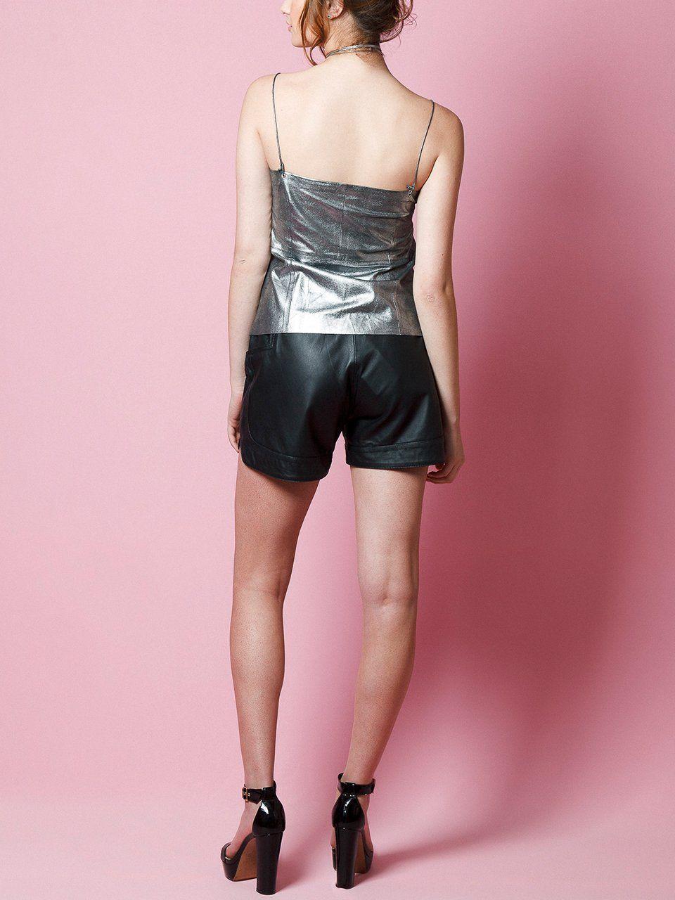 Blusa Cropped de Chamois - Liziane Richter