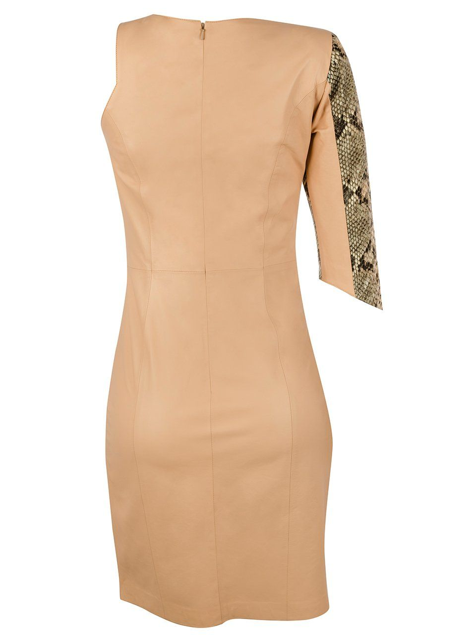 Vestido Monomanga em Pyton - Liziane Richter