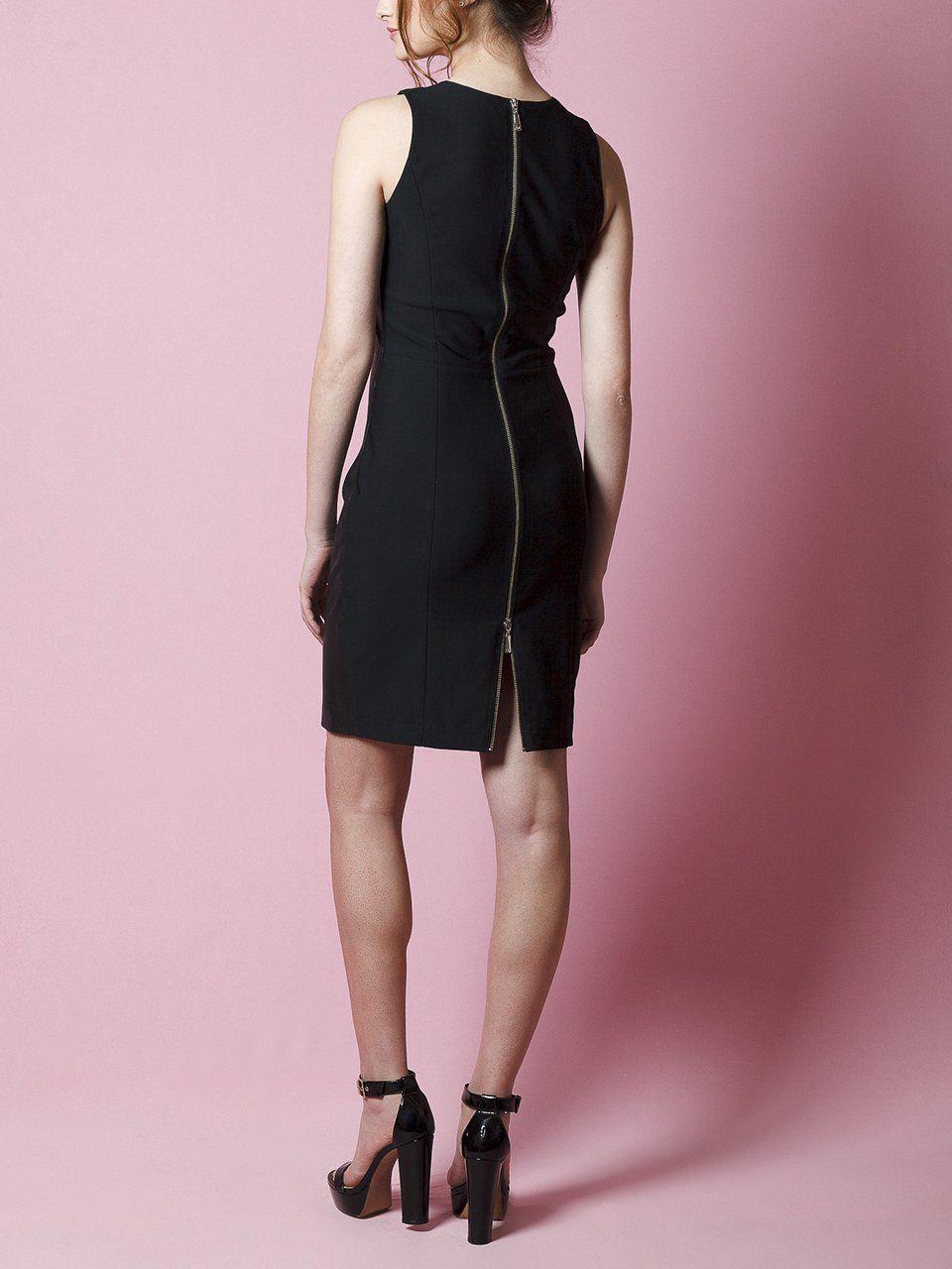 Vestido Tubinho com Decote Careca - Liziane Richter