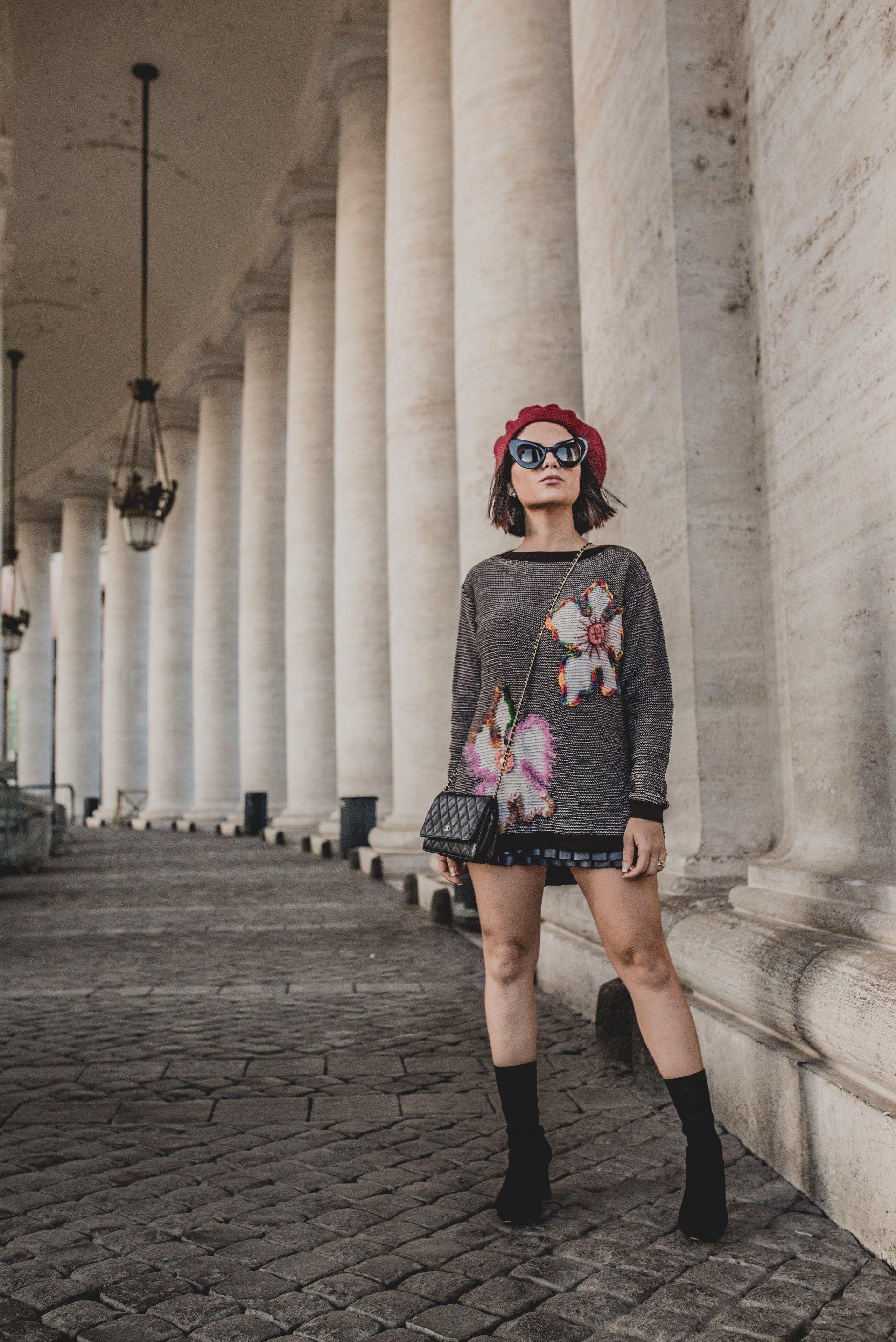 Blusa Flor Bordada Rafinha Gadelha 001IF18