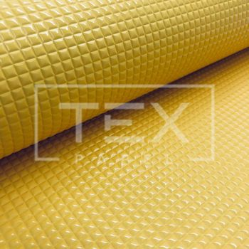 Corino Festa - Ref. 305 Quadriculado Amarelo Sol